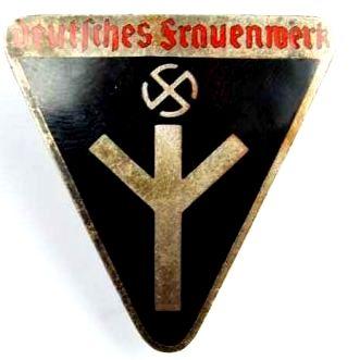 """Distintivo de Miembro del """"Deutsches Frauenwerk"""" , """"M1/72"""""""